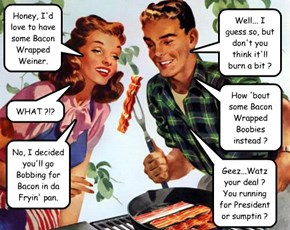 Bill & Hillary's Bacon Scandal
