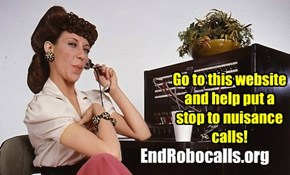 Stop Telemarketers Now!