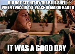 Not This Time, Blue Shell