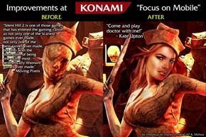 Improvements at Konami