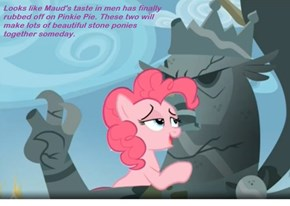 Pinkie Likes Her Men Stoic and Cold