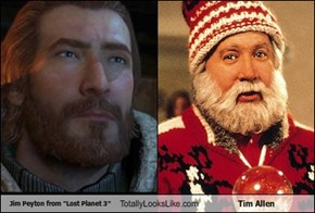"Jim Peyton from ""Lost Planet 3"" Totally Looks Like Tim Allen"