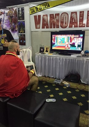 Zangief Playing as Himself