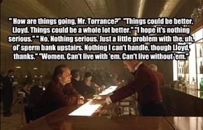 Bar conversations