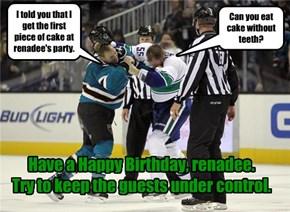 Happy Birthday, renadee