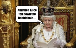 And then Alice fell down the Rabbit hole.....