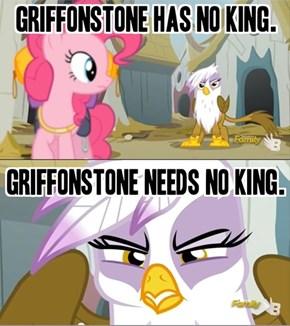 The Steward of Gondor... eh... Griffonstone
