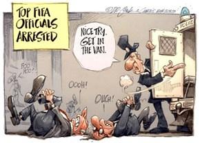 Meanwhile at FIFA Headquarters