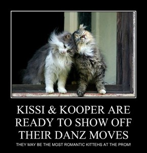 KISSI & KOOPER ARE READY TO SHOW OFF THEIR DANZ MOVES