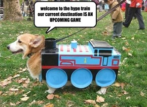 WELCOME TO THE HYPE TRAIN