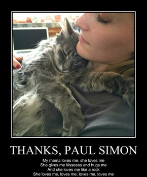 THANKS, PAUL SIMON