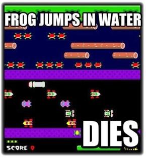 Frogger Logic