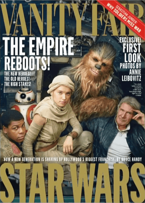 Star Wars VII is on the Cover of Vanity Fair, Take a Look Behind the Scenes