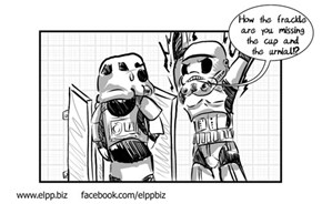 Stormtrooper Urinalysis