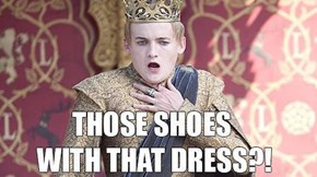 Joffrey Actually Died of Shock