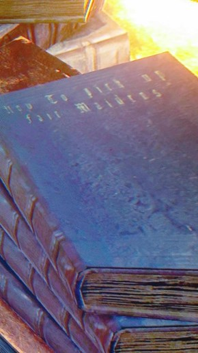 A Little Light Reading in Bloodborne