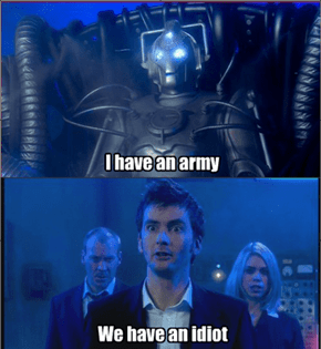 The Doctor can make anything sound badass