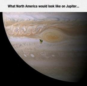 Damn Jupiter, You Scary!