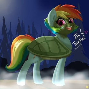 Dashie, You're a Tortoise!