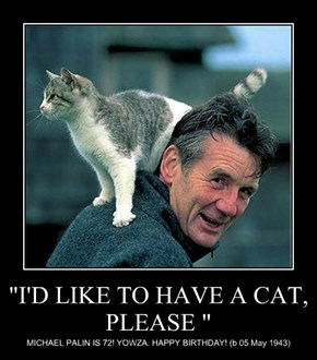 """""""I'D LIKE TO HAVE A CAT, PLEASE """""""