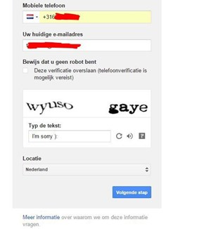 That Wasn't Very Nice of You, Captcha