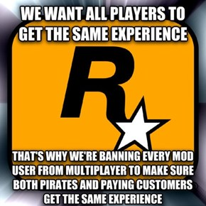 The Reason Why Rockstar Decided to Ban Everyone Who Uses Mods