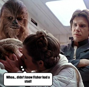 Not talkin' about Harrison, neither!