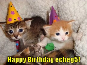 Happy Birthday echeg5!