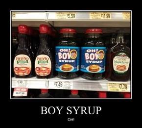 BOY SYRUP