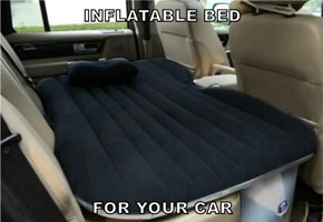 INFLATABLE BED   FOR YOUR CAR