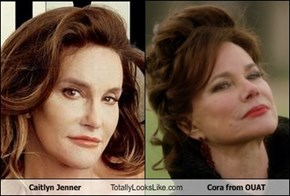 Caitlyn Jenner Totally Looks Like Cora from OUAT