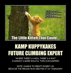 KAMP KUPPYKAKES FUTURE CLIMBING EXPERT