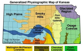 Read more about Kansas geology here:  http://academic.emporia.edu/aberjame/field/flint/flint.htm