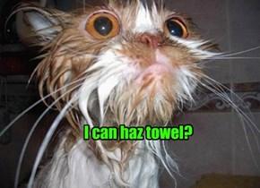 I can haz towel?