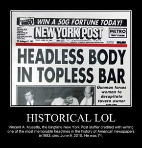 HISTORICAL LOL