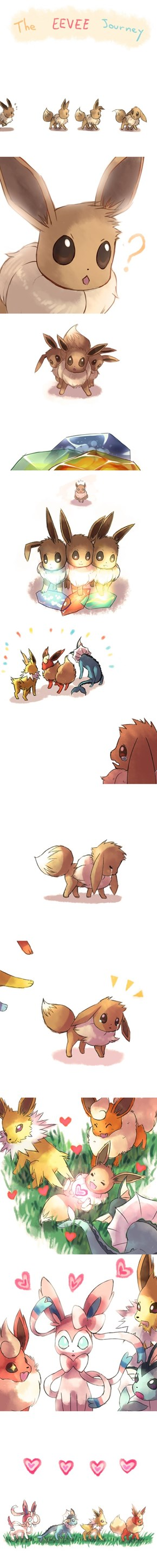 A Tale of Four Eevees
