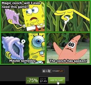 All Hail the Steam Sale Conch