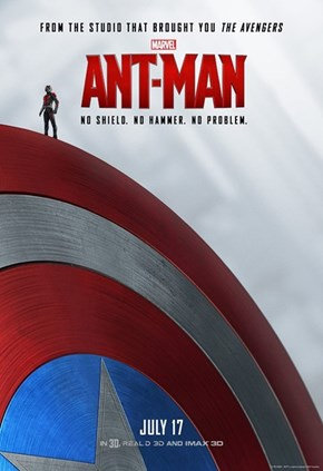 Marvel's Ant-Man Gets New Posters and a TV Spot That Connect Him To The Universe