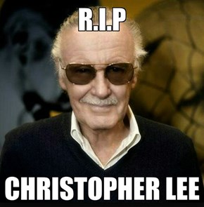 Gonna Miss Christopher Lee.