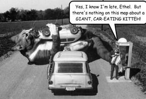 Pre-GPS roadtrips were dangerous