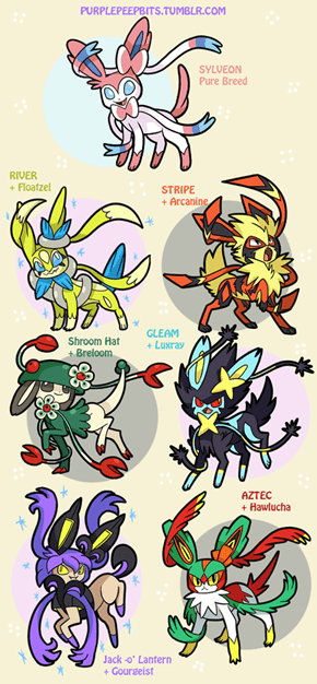 Sylveon Variations