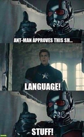 If You're Going To Be In The Avengers, You Gotta Follow The Rules