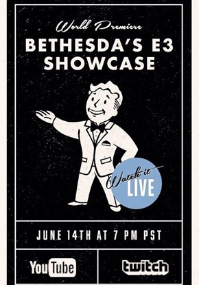 Tune in This Sunday Night at 7PT/10ET for Cheezburger's Live Coverage of Bethesda's E3 Press Conference!