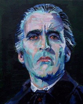 Christopher Lee is Count Dracula.