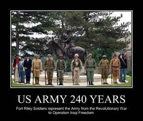 US ARMY 240 YEARS