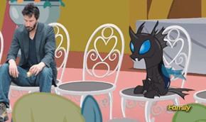 Sad Keanu and Bug