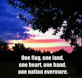 For Flag Day a quote by Oliver Wendell Holmes