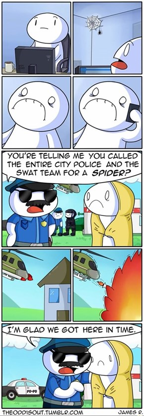 This is Why SWAT Team Exists