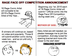Rage Comic Contest
