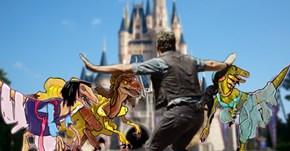 Witness the Terror of Disney Princesses as Dinosaurs